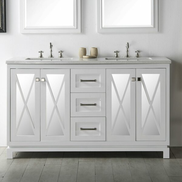 Sandie 60 Double Vanity Set by Gracie Oaks
