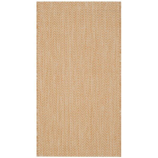 Mullen Natural/Cream Indoor/Outdoor Area Rug by Ebern Designs