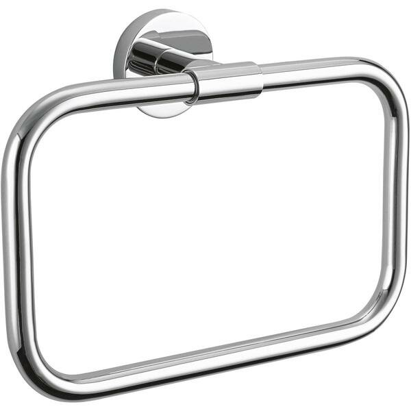 Brass Closed Towel Ring by AGM Home Store