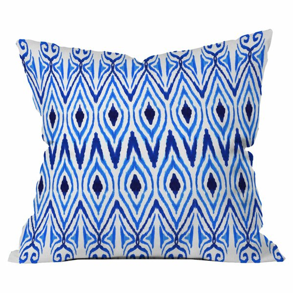 Ikat Throw Pillow by Deny Designs