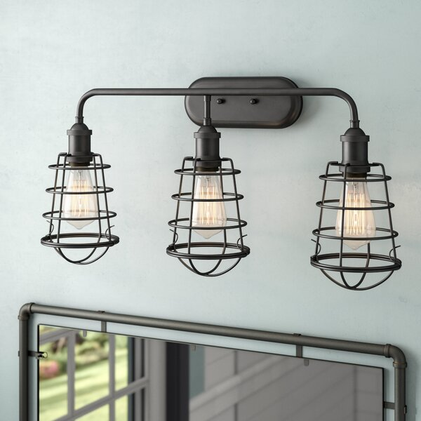 Deadra 3-Light Vanity Light by Williston Forge