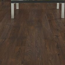 Barfield 4.87 x 47.25 x 7.87mm Oak Laminate Flooring in Dark Brown by Mohawk Flooring