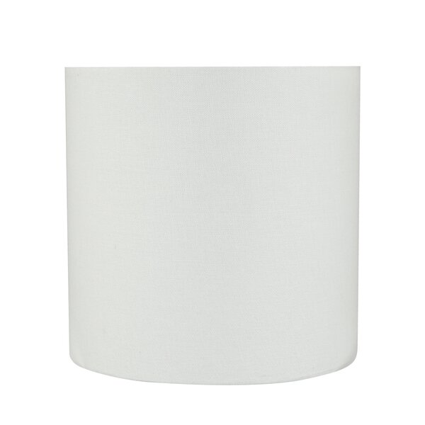 Transitional 8 Linen Drum Spider Lamp Shade by Highland Dunes