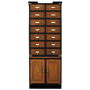 14 Drawer and 2 Door Accent Cabinet