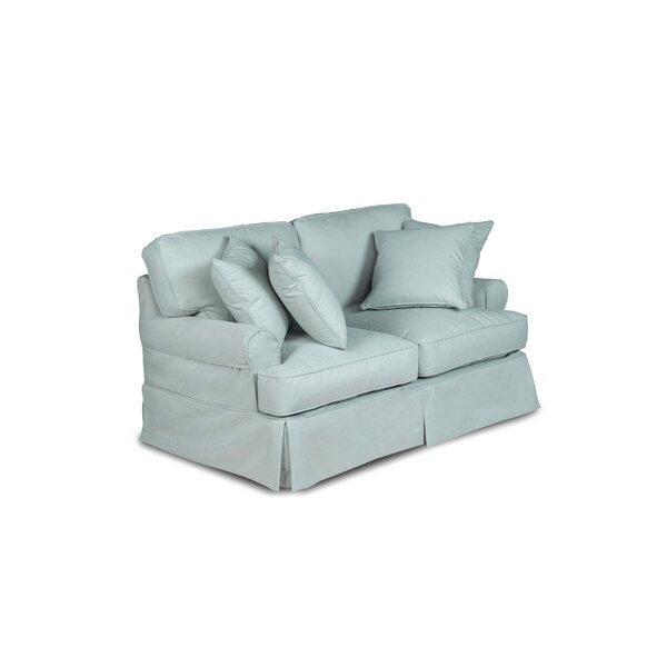 Telluride T-Cushion Loveseat Slipcover
