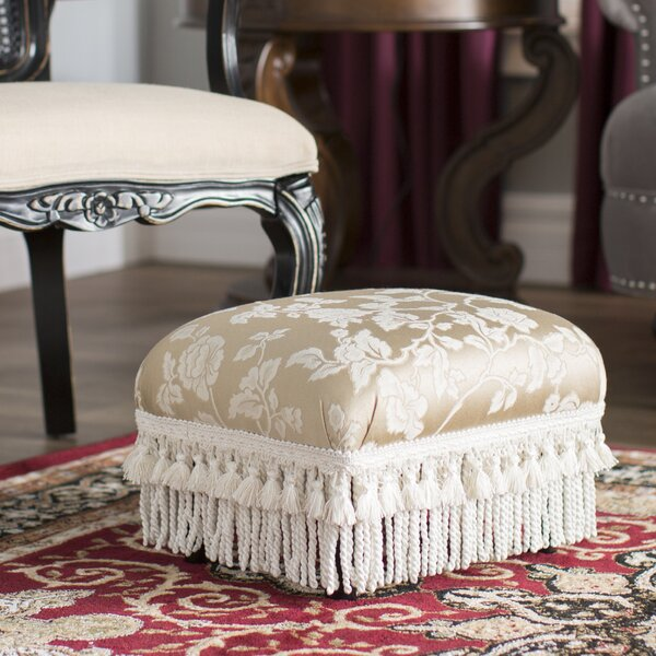 Leonardson Traditional Decorative Ottoman by Astoria Grand