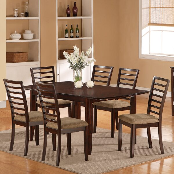 7 Piece Dining Set by Wildon Home ®
