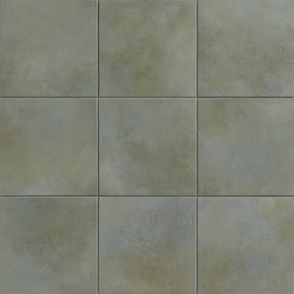 Poetic License 3 x 3 Porcelain Mosaic Tile in Slate by PIXL