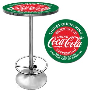 Coca Cola Pub Table II by Trademark Global Best Reviews