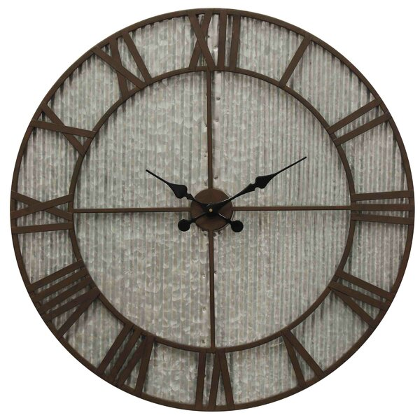 Oversized Halton 30 Wall Clock by Williston Forge