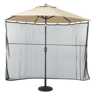 Patio Umbrella Side Wall Sun Shade Netting