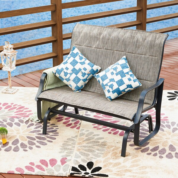 Sigman Glider Bench By Charlton Home by Charlton Home Today Only Sale