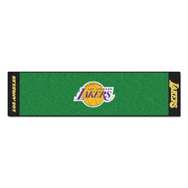 NBA - Los Angeles Lakers Putting Green Doormat by FANMATS