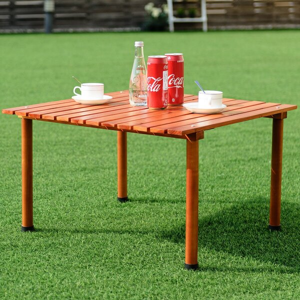 Biddlesden Picnic Table by Rosecliff Heights