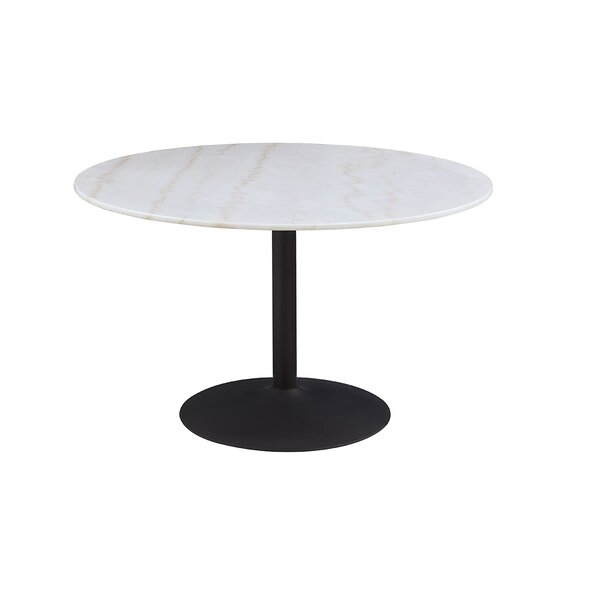 Chilmark Marble Dining Table by Everly Quinn