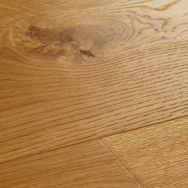 Chepstow 7-1/2 Engineered Oak Hardwood Flooring in Tan by Woodpecker