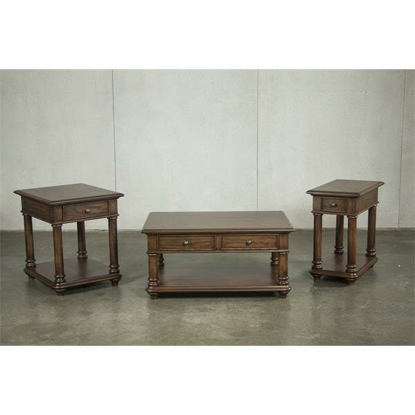 Munoz 3 Piece Coffee Table Set by Canora Grey