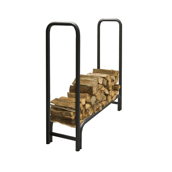 Outdoor Steel Log Rack by Pleasant Hearth