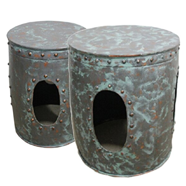 Avett 2 Piece End Table Set by Sagebrook Home