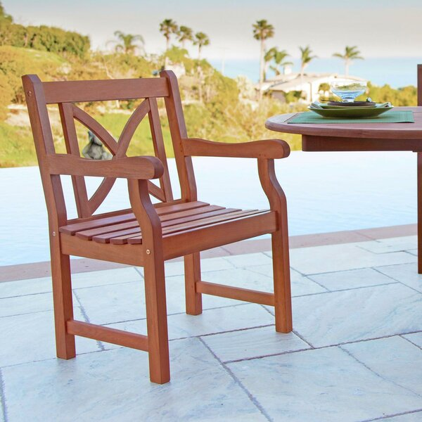 Ehlert Stacking Patio Dining Chair by Darby Home Co
