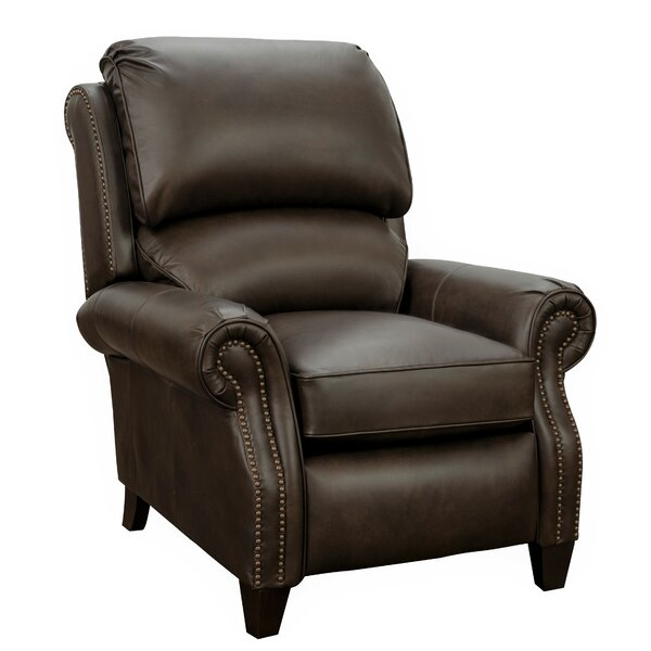 Lorraine Leather Manual Recliner By Darby Home Co