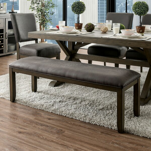 Chilton Upholstered Bench by Union Rustic
