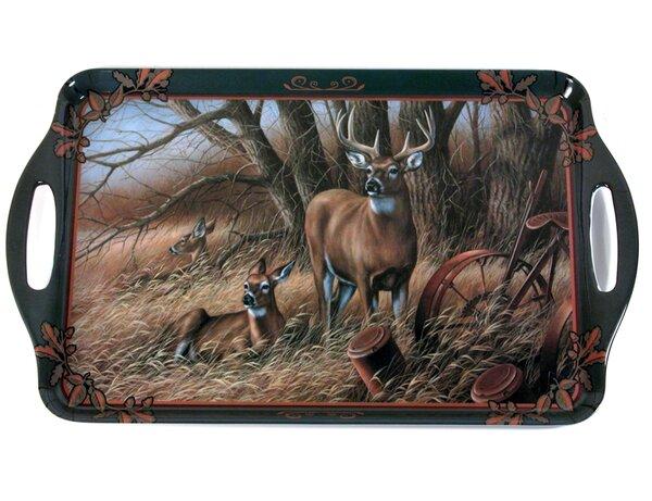Melamine Deer Serving Tray by MotorHead Products