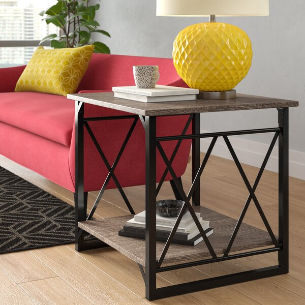 Phaidra End Table by Wrought Studio
