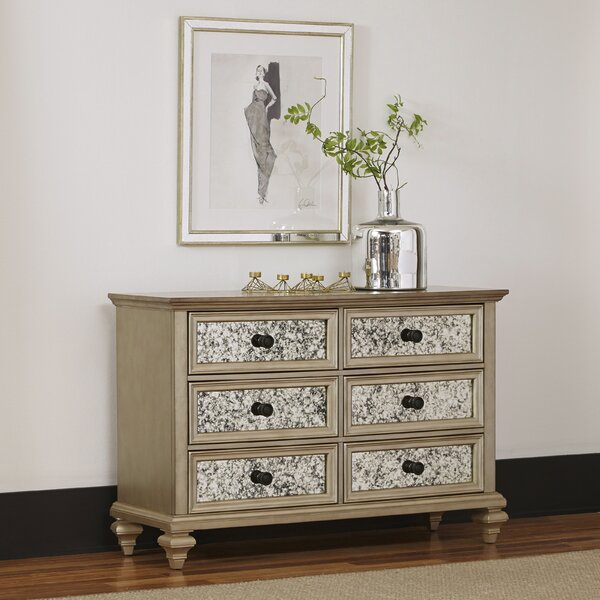 Best Choices Erica 6 Drawer Double Dresser By Rosdorf Park Herry Up