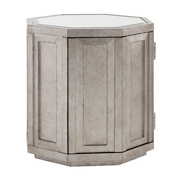 Ariana Rochelle Octagonal End Table with Storage by Lexington