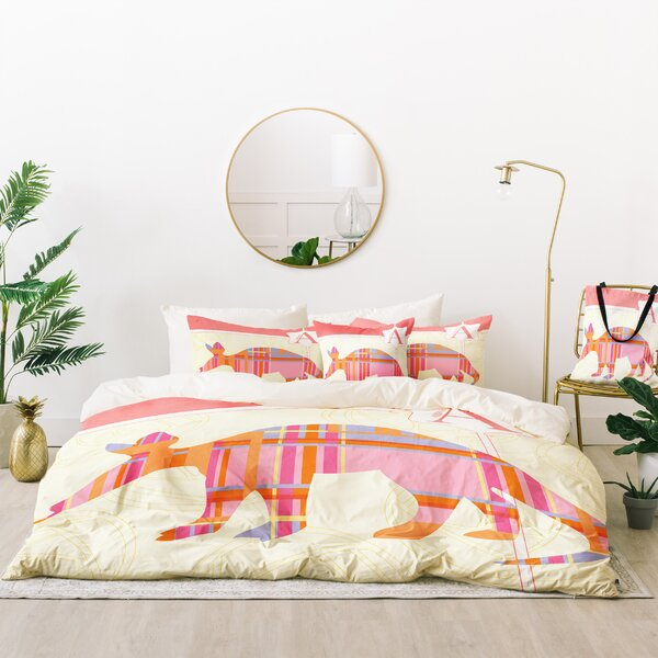 Jennifer Hill Miss Aardvark Duvet Cover Set