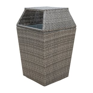 Graphite Trash Can