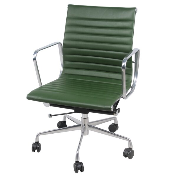 Boudreaux PU Office Desk Chair by Latitude Run