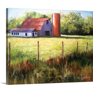 'Best Ark Barn' by Cheri Wollenberg Painting Print on Wrapped Canvas by Great Big Canvas