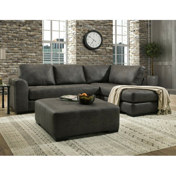 Ledyard Sectional with Ottoman by Brayden Studio
