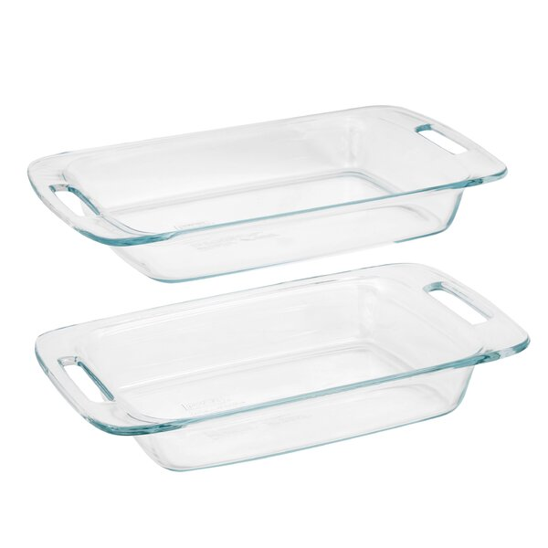 Easy Grab 2 Piece Baking Dish Set by Pyrex