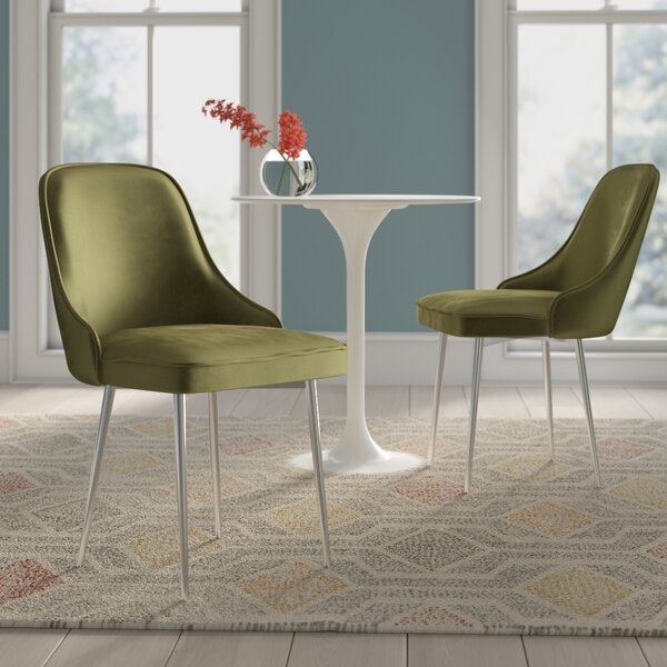 Elim Upholstered Dining Chair (Set Of 2) By Mercer41