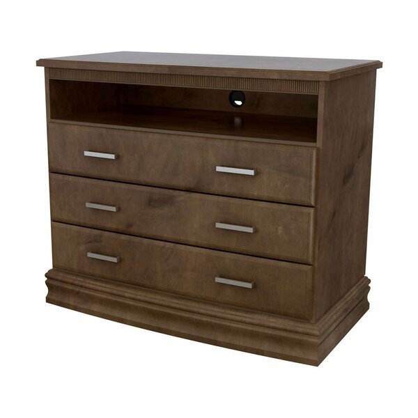 Home & Outdoor Carnegie Hill 3 Drawer Media Chest