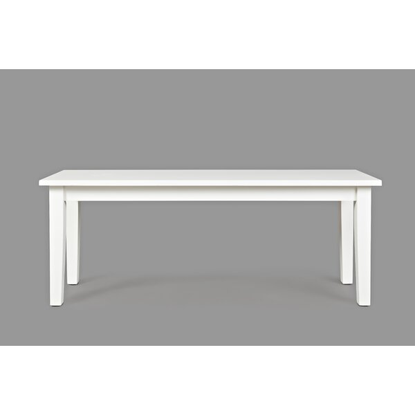 Newmarket Wood Dining Bench by Highland Dunes