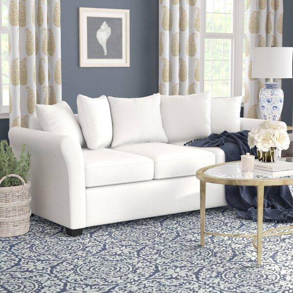 Santucci Linen Sofa By Winston Porter