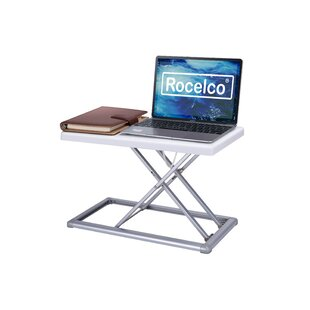 Wocst Adjustable//Portable Multiple Angle Aluminum Alloy Desk Stand for Laptop Notebook ( 7-Inch by 1-Inch) Black