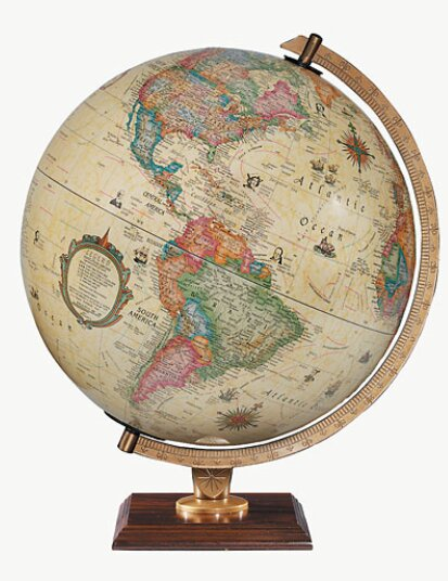 Carlyle World Globe by Replogle Globes