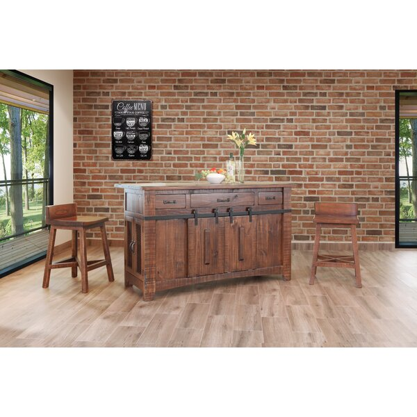 Coralie 3 Piece Kitchen Island Set by Gracie Oaks