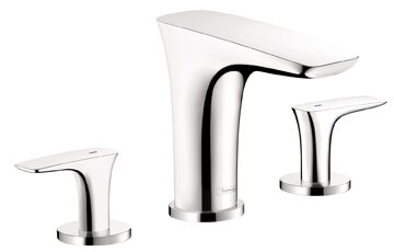 Puravida Double Handle Deck Mounted Roman Tub Faucet Trim by Hansgrohe Hansgrohe