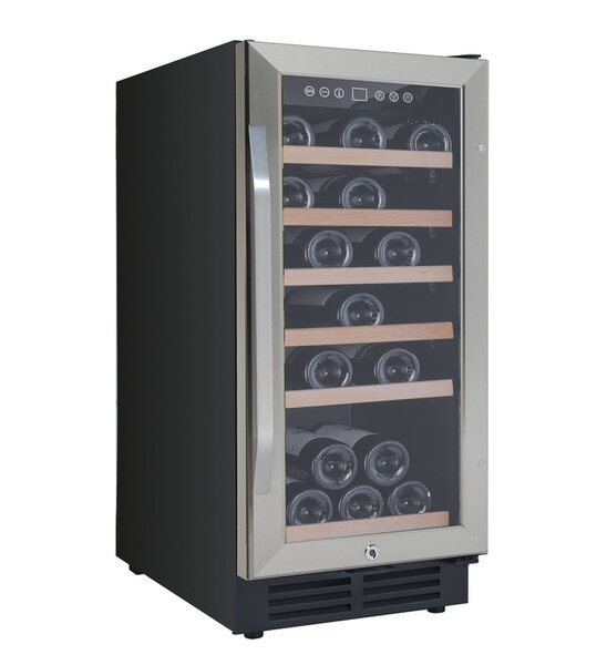 30 Bottle Single Zone Freestanding/Built-In Wine Refrigerator By Avanti Products
