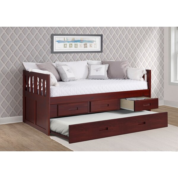 Dubbo Captains Twin Bed with Trundle by Harriet Bee