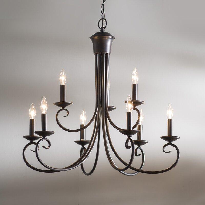 Astoria grand calafia 9 light candle style chandelier reviews calafia 9 light candle style chandelier audiocablefo