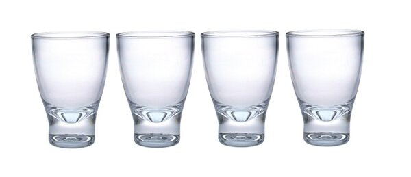 10 oz. Acrylic Tumbler Glass (Set of 4) by Chenco Inc.