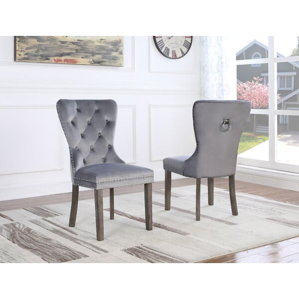 Thame Upholstered Dining Chair (Set of 2) by Everly Quinn