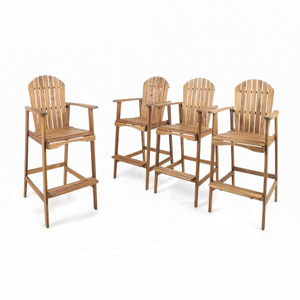 Courts Solid Wood Adirondack Chair by Rosecliff Heights